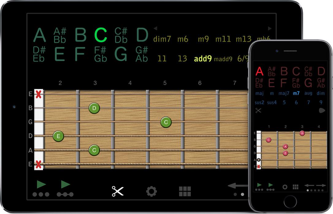 Guitar Chords | rubbleDev iOS apps